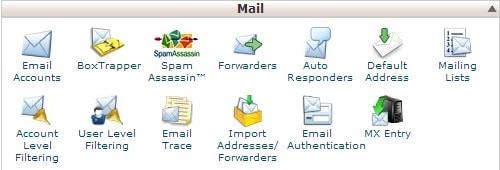 How do I create email accounts?